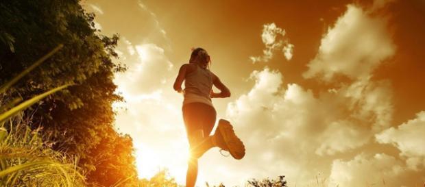 Slow jogging - autor: fitwalk.