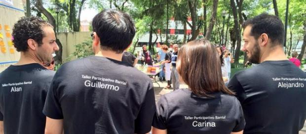 TPB, organización que interviene espacios públicos