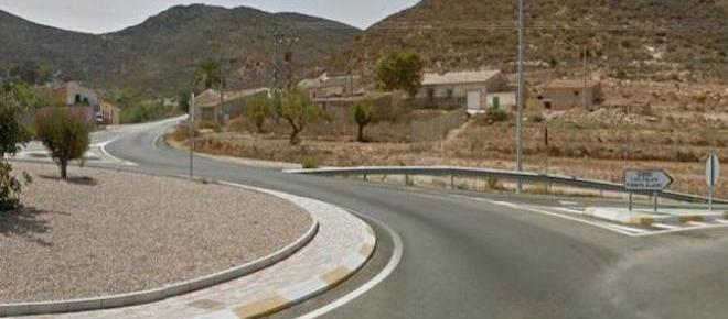 Asalto a punta de pistola en la carretera de Mazarrón