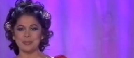 Captura de una actuación de Isabel Pantoja