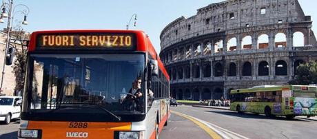Sciopero mezzi pubblici a Roma, venerdì 7 agosto