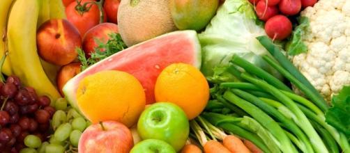 Frutta, verdura e il benessere per i piccini.