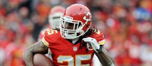 Jamaal Charles is a top fantasy football pick.