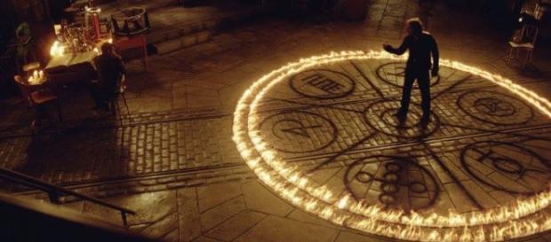 Cerchio magico per un triplo omicidio satanico