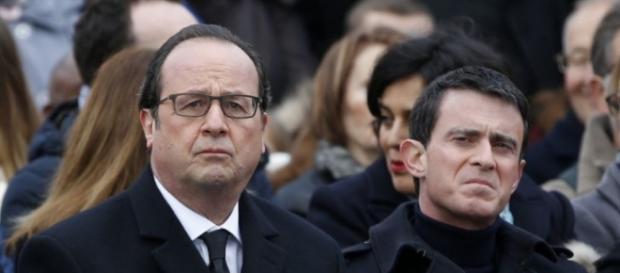 Francois Hollande et Manuel Valls