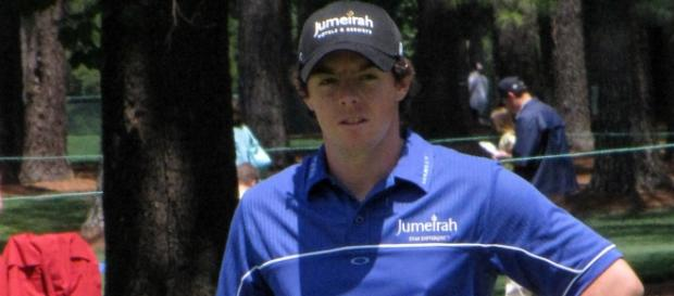 Rory McIlroy. He is ready to go