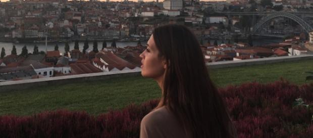 Sara Carbonero encantada com a cidade do Porto