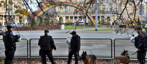 Tęcza na Wawelu - propozycje internautów