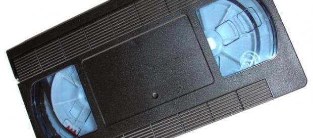 Una tipica videocassetta anni '80