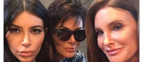 Kim Kardashian, Kris Jenner e Caitlyn Jenner