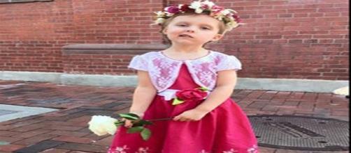 La pequeña de cinco años con cáncer terminal