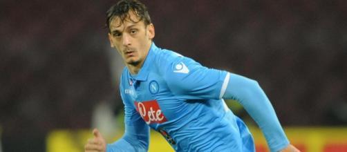 Manolo Gabbiadini, 24enne attaccante del Napoli