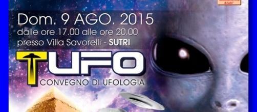 UFO e alieni, la conferenza di Sutri