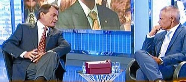 Artur Mas en una entrevista en Telecinco.