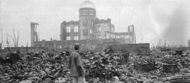 Hiroshima, tras la explosión. Crédito: www.bbc.com