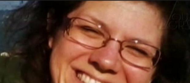 Una bella immagine della donna defunta