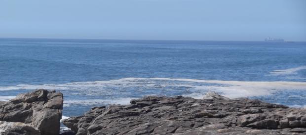 Vista perto da praia do Cabo do Mundo