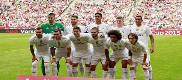 XI del Real Madrid vs Tottenham.
