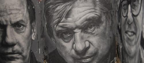 Francis Bacon (middle) features in Tate Sensorium