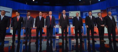 I candidati al GOP Debate di Cleveland