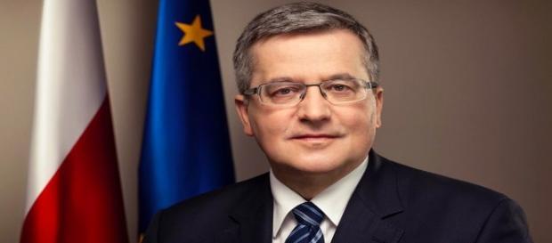 Były prezydent Polski B. Komorowski