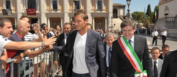 Francesco Totti, capitano della Roma