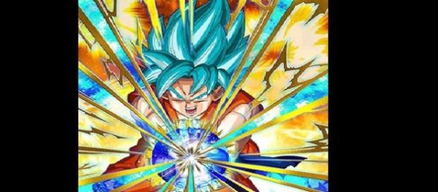 Goku en una carta especial de Dragon Ball Heroes