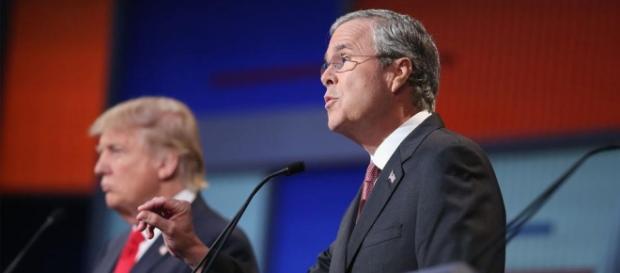 Il candidato repubblicano Jeb Bush.