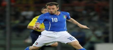 Antonio Cassano alla Sampdoria per 2 anni.