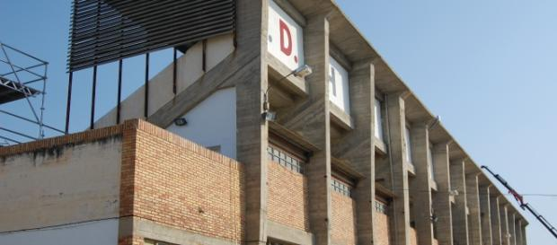 Grada de el Alzoraz (SD Huesca)