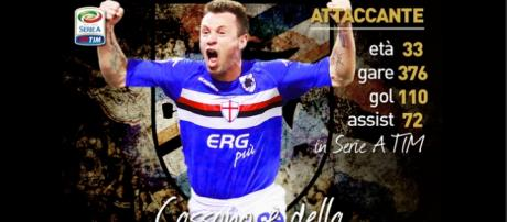 Ufficiale, Antonio Cassano torna alla Sampdoria