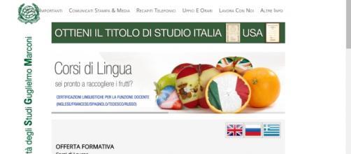 UniGMarconi di Roma, docenti con conoscenza lingue