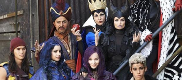 """Los """"Descendientes"""" que llegan a Disney"""