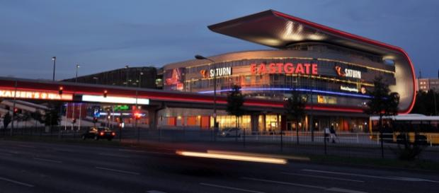 Futuristischer Shoppingtempel: Eastgate Berlin