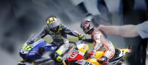 Valentino Rossi e Marc Marquez la sfida continua