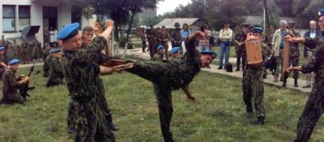 fueron fatalmente baleados por soldados de la OTAN