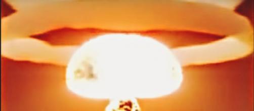 gli effetti di una bomba atomica su Milano