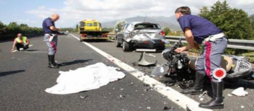 Più morti e meno feriti sulle strade italiane