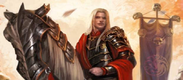 Aegon Targaryen - Fanart de Diego Gisbert