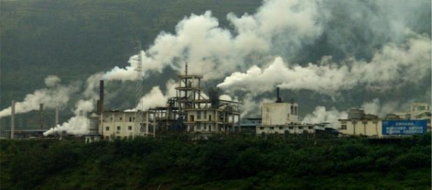 Poluição na China é preocupante