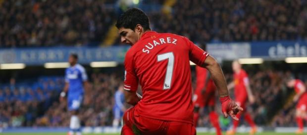 Suarez back in the Liverpool days
