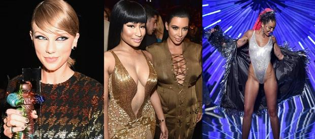 Taylor Swift e Nicki Minaj marcaram o Show.
