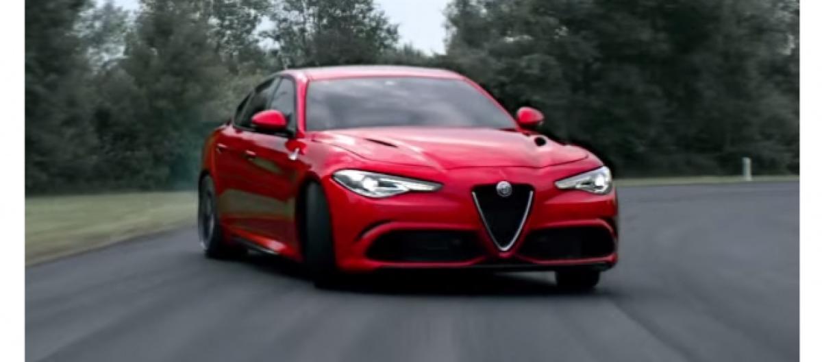 Alfa Romeo Giulia Lanciato Sul Web Nuovo Spot Della Berlina