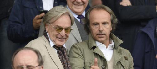 I fratelli Della Valle, proprietari Fiorentina