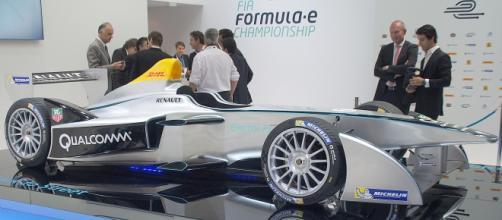 Monoplaza utilizado en primera temporada formula E