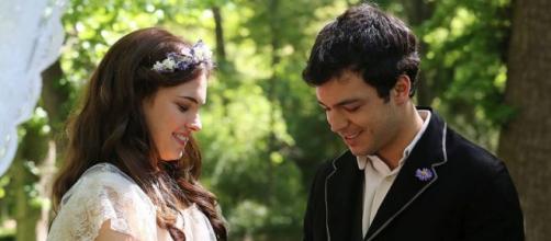 Una Vita Acacias 38: matrimonio Leonor e Pablo