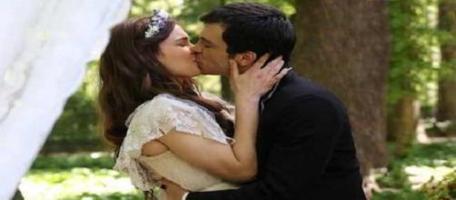 Una Vita: Pablo e Leonor si sposano in segreto.