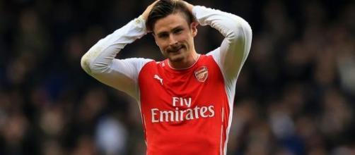 Arsenal striker - Olivier Giroud