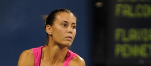 Flavia Pennetta, una delle semifinaliste italiane