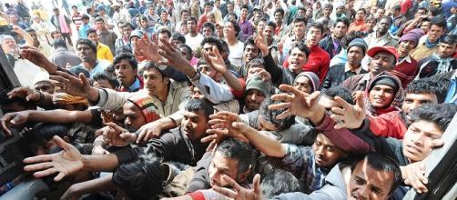 Rifugiati siriani in Germania.